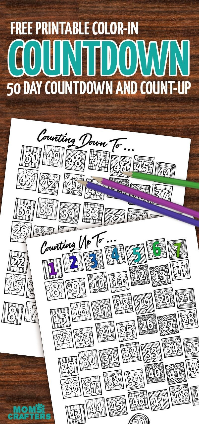 Grab This Fun Color-In Countdown And Progress Tracker (With