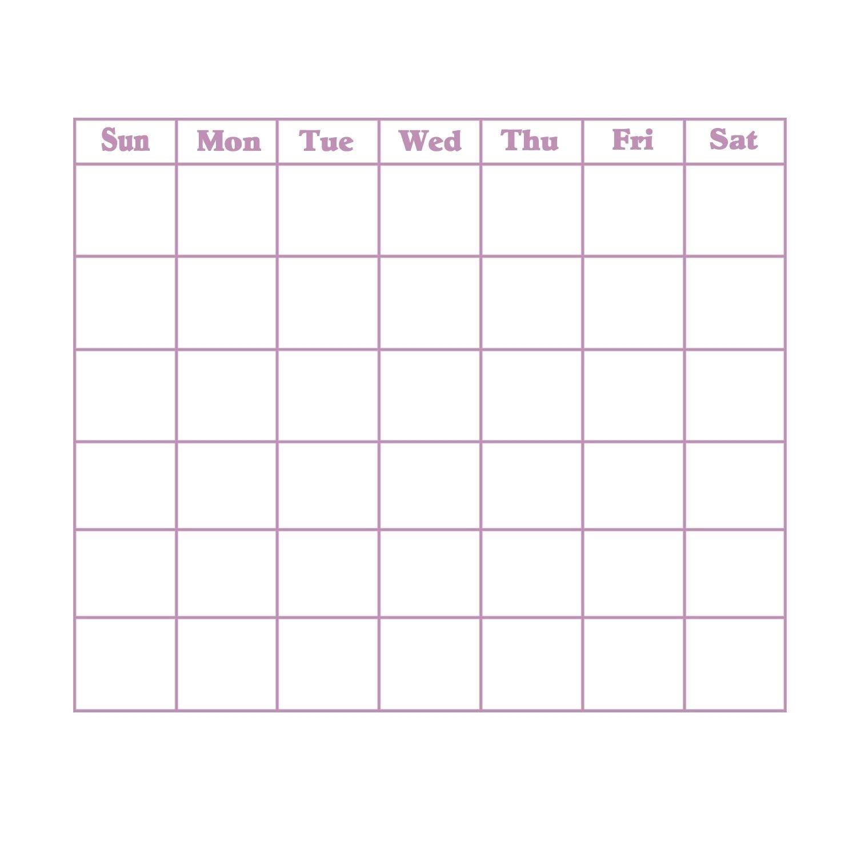 Grid Of 31 Days Image - Calendar Inspiration Design