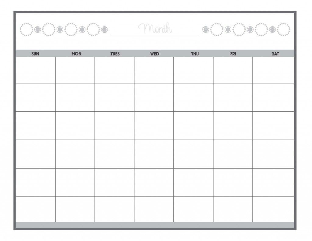 Guess The Date Print Our Calendar Grid, Then Fill In The