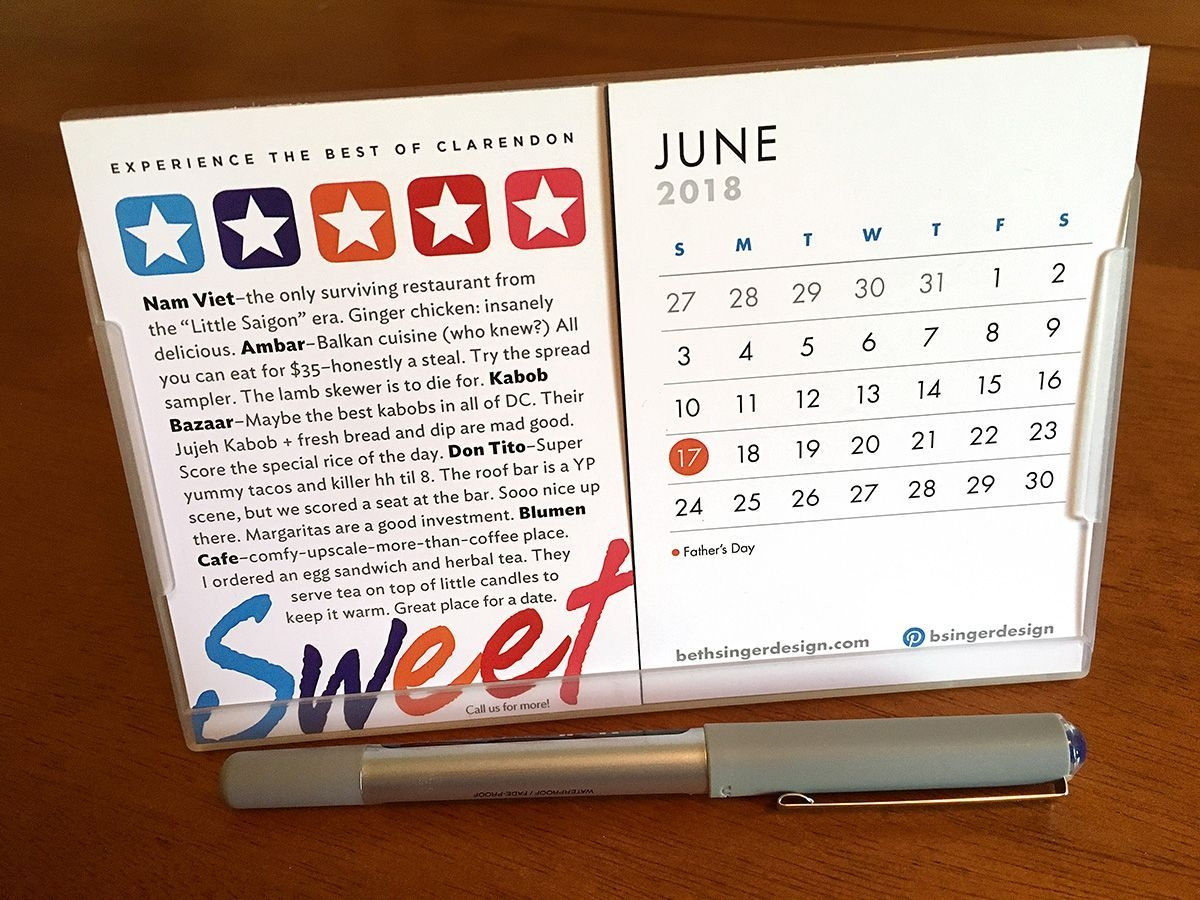 Happy June! A New Month Means A New Calendar Page — But Don