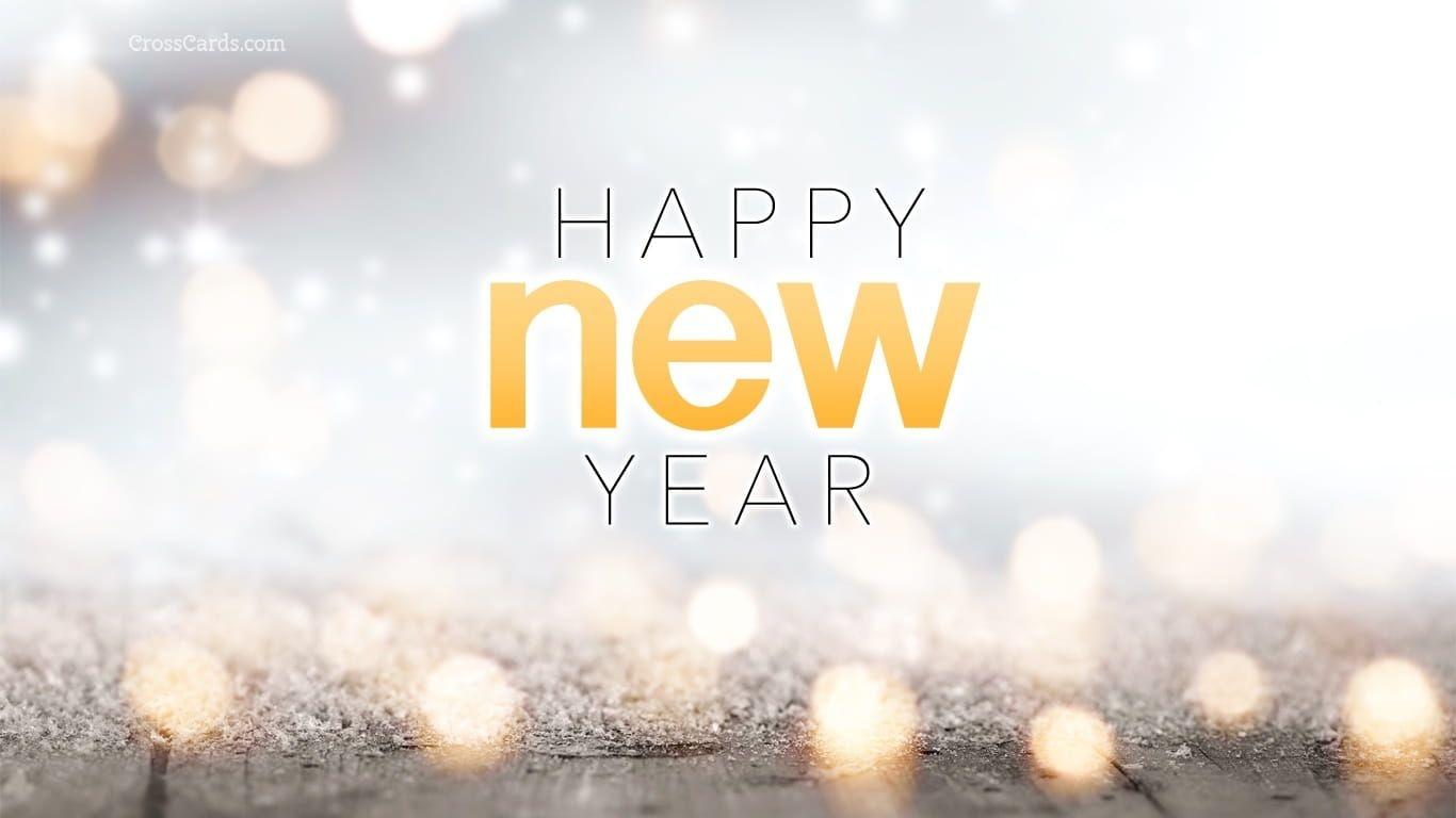 Happy New Year Desktop Calendar- Free January Wallpaper