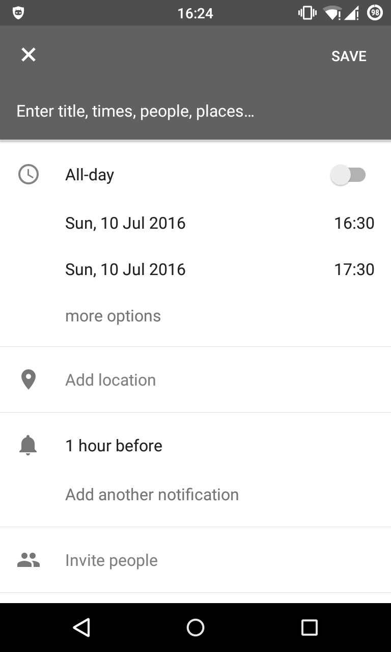 How To Achieve Google Calendar Edittext Look - Stack Overflow