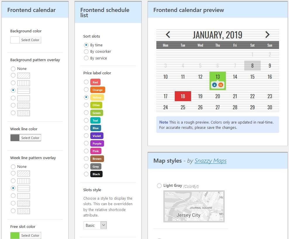 How To Add A WordPress Availability Calendar - Motopress