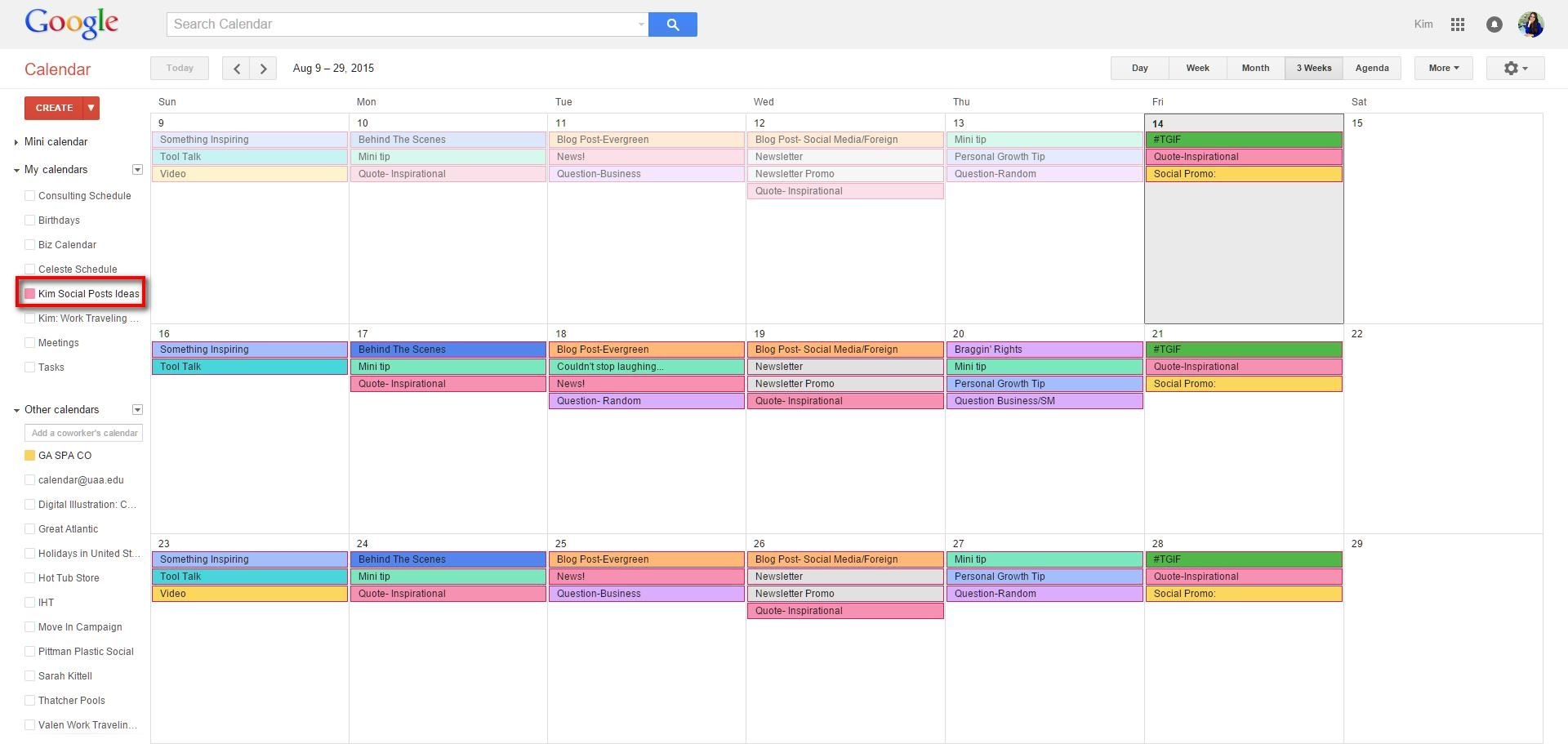 How To Create A Content Calendar That Actually Works