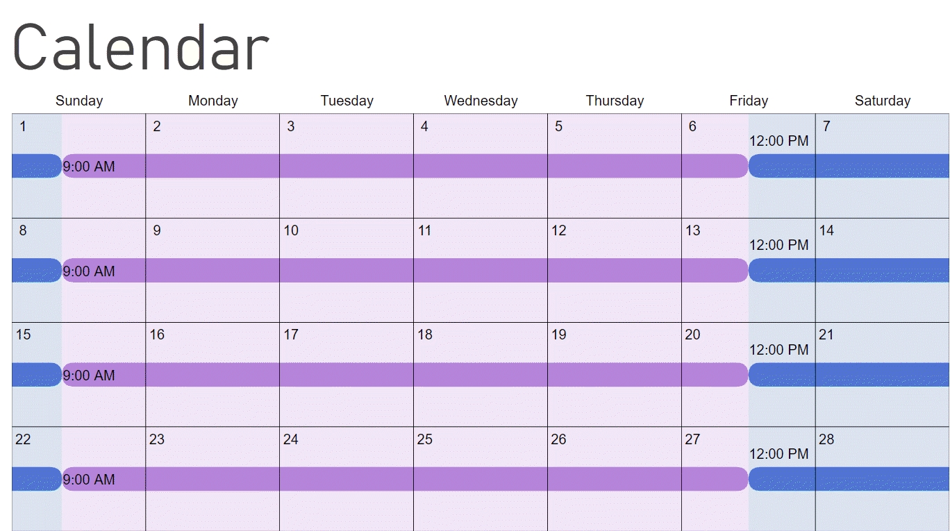 How To Make A Child Custody Calendar: Create & Print Easily