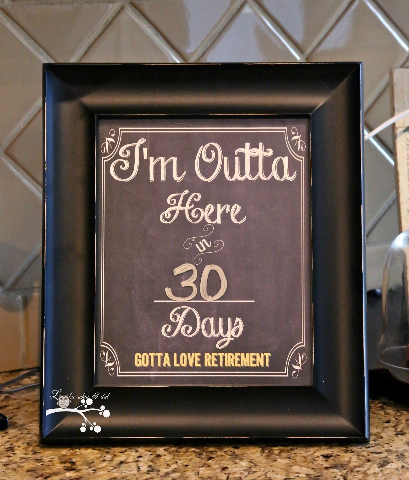 I'm Outta Herecountdown To Retirementfree Printable