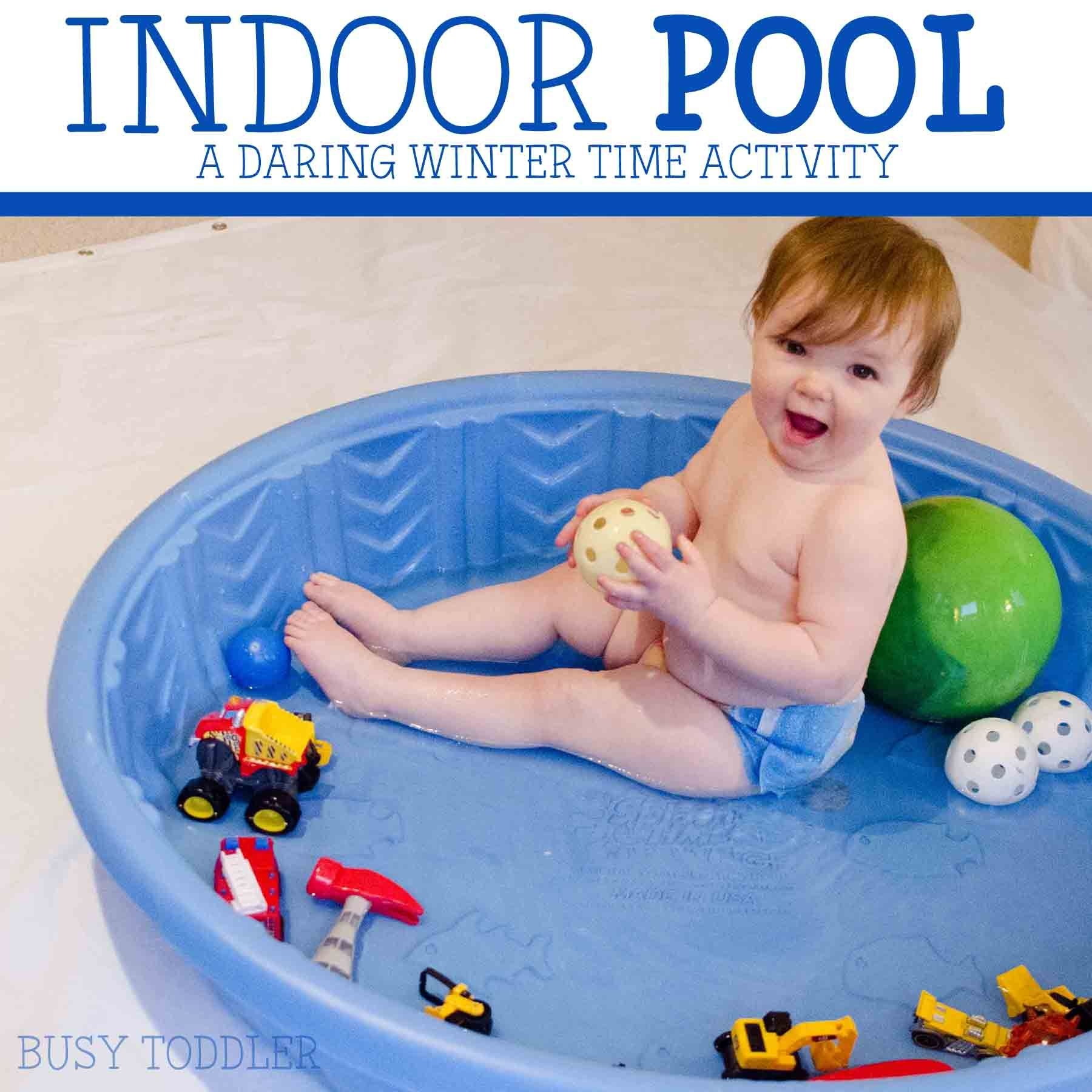 Indoor Pool: Toddler Activity Fun - Busy Toddler
