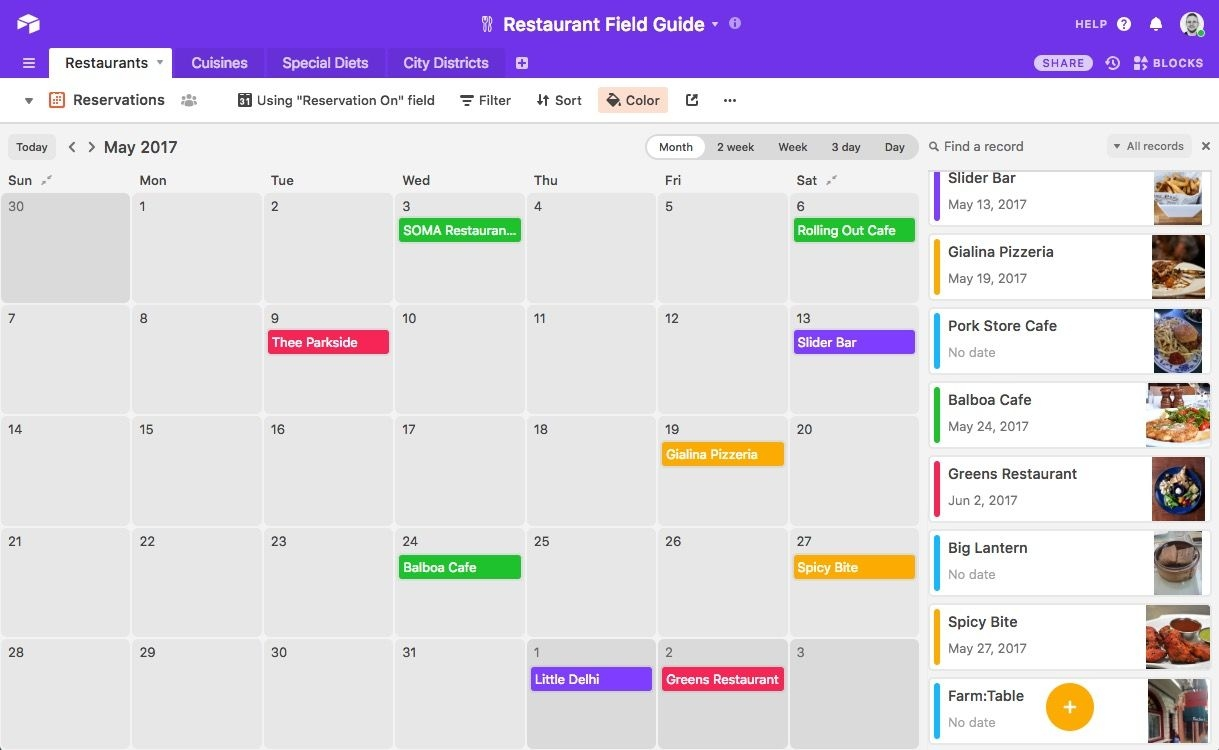 Integrating Airtable With External Calendar Applications
