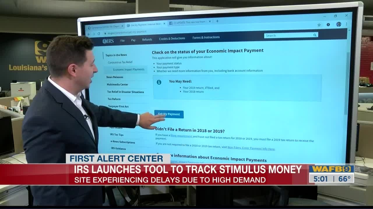 Irs Stimulus Check Tracking Tool Now Live