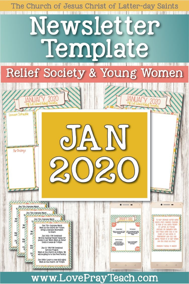 January 2020 Editable Newsletter Bundle