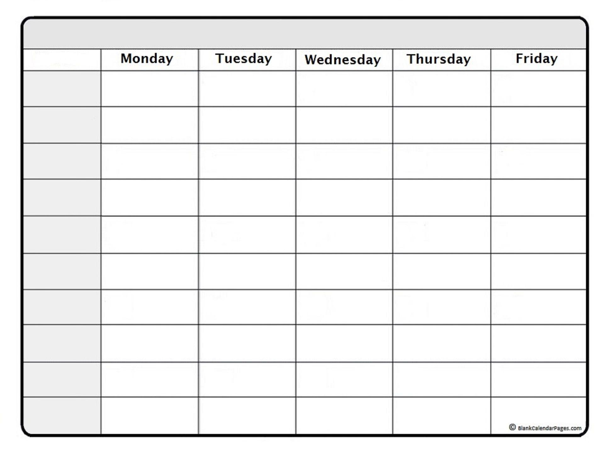 June 2020 Weekly Calendar | June 2020 Weekly Calendar Template