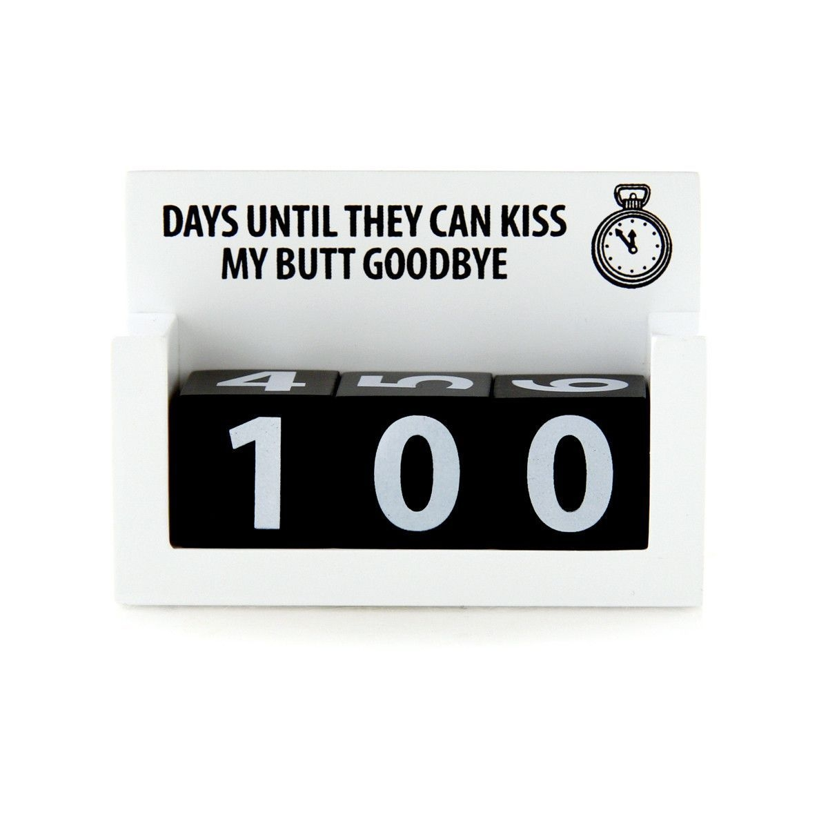 Kiss My  Good Bye Count Down Calendar (With Images