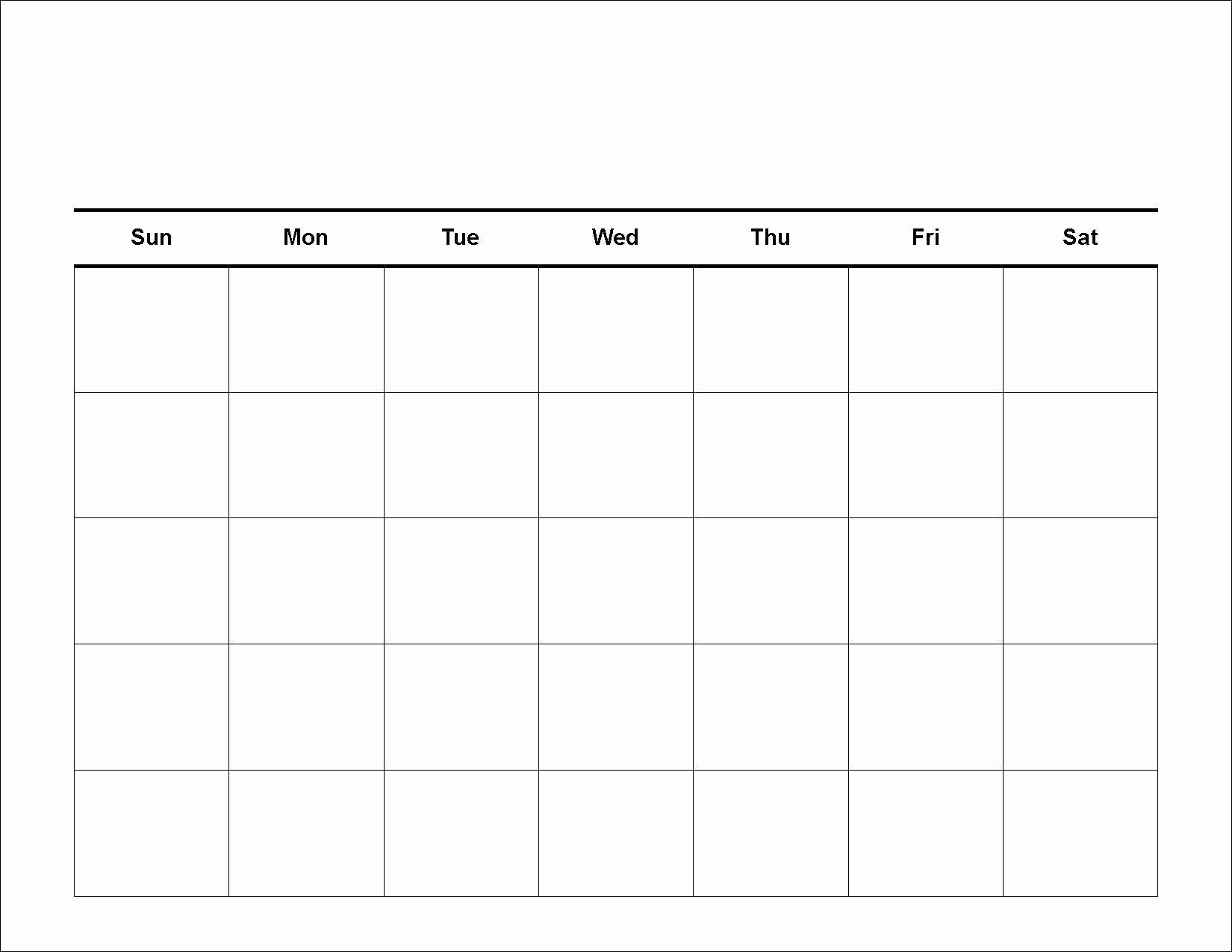 Lovely Blank Weekly Schedule Template In 2020 (With Images