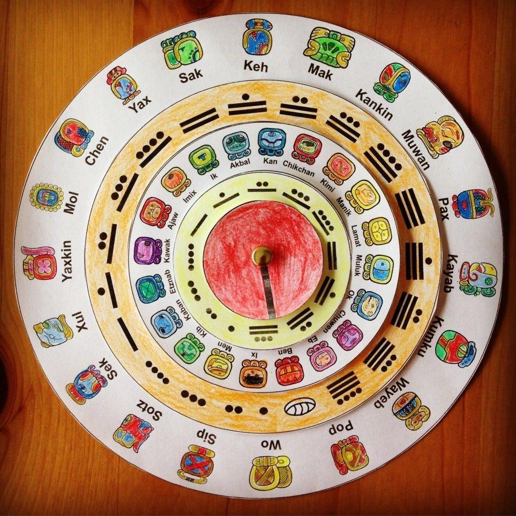 Make Your Own Maya Calendar (With Images)   Maya Calendar