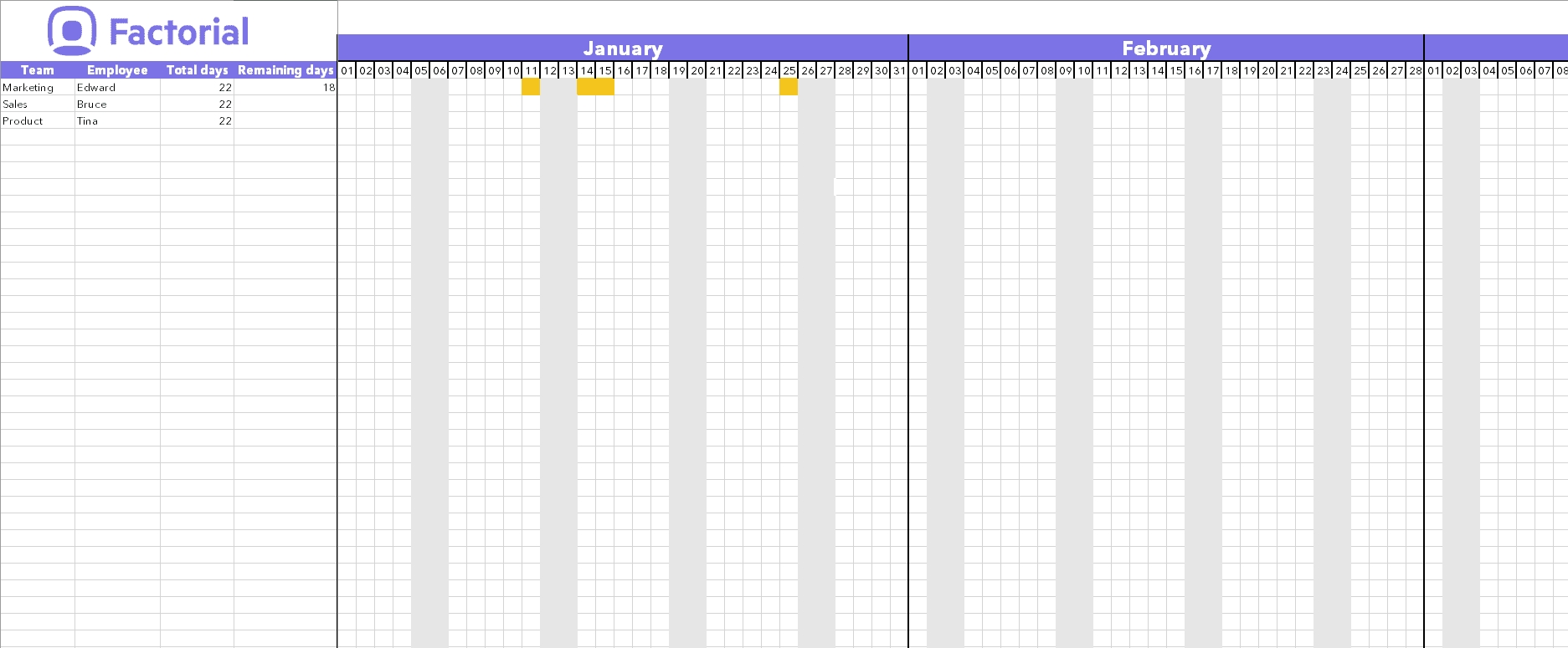 Manage Time Off Requests W/ Free Template   Factorial