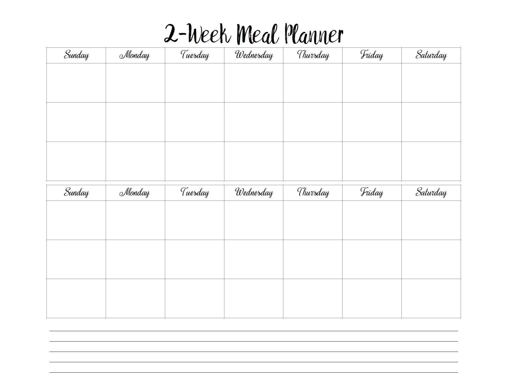 Menu & Grocery Printables | Meal Planner, Meal Planning