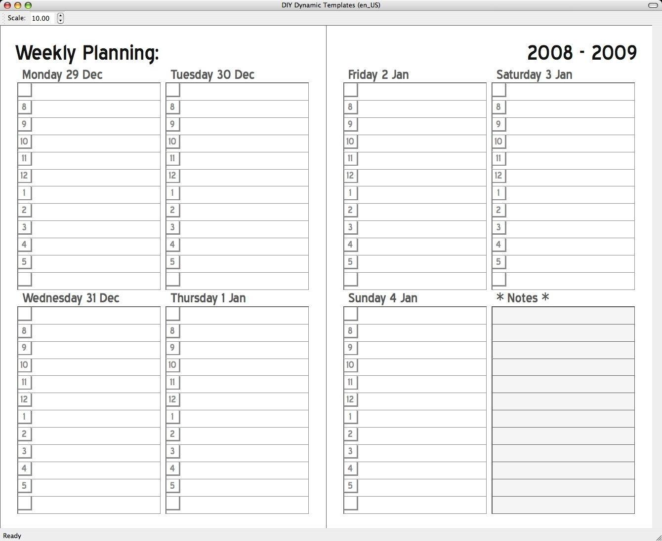 Monthly Calendar 2 Page To Print - Calendar Inspiration Design