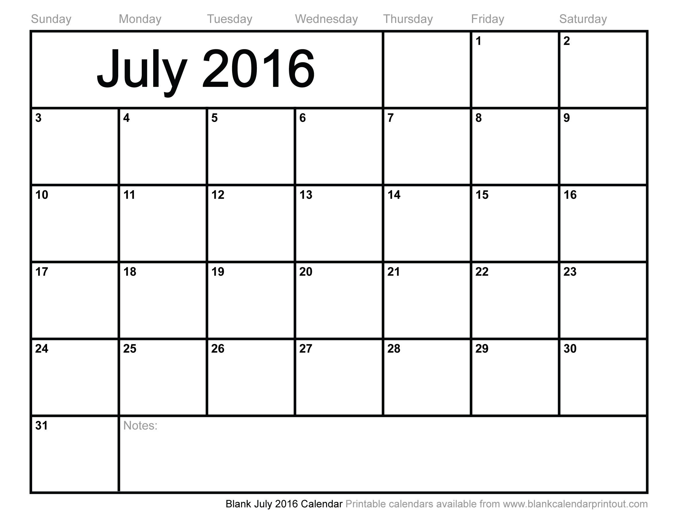 My Favorite Website For A Basic Monthly Calendar Printout