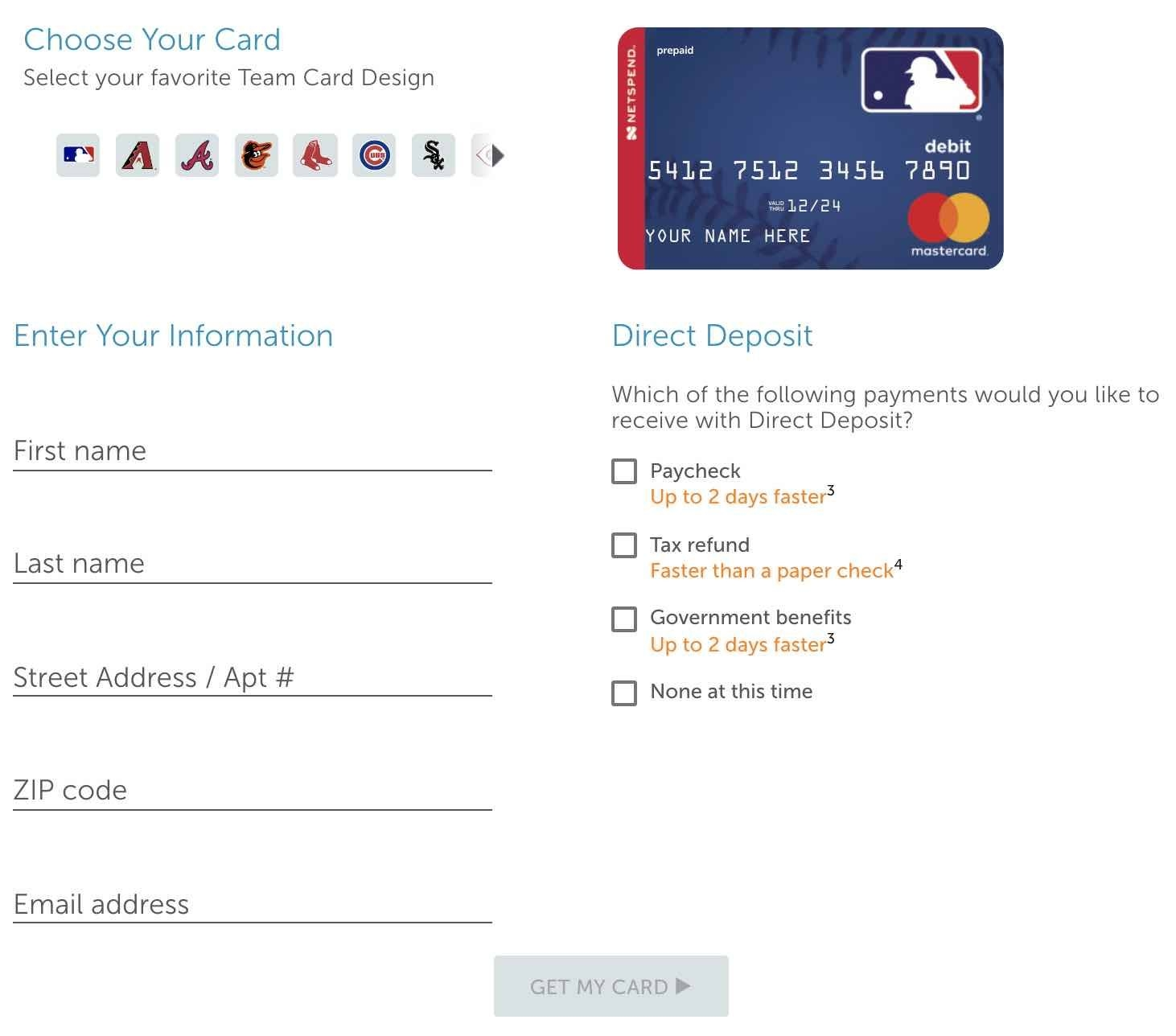 Netspend Mastercard Mlb Prepaid Debit Card Review 2020