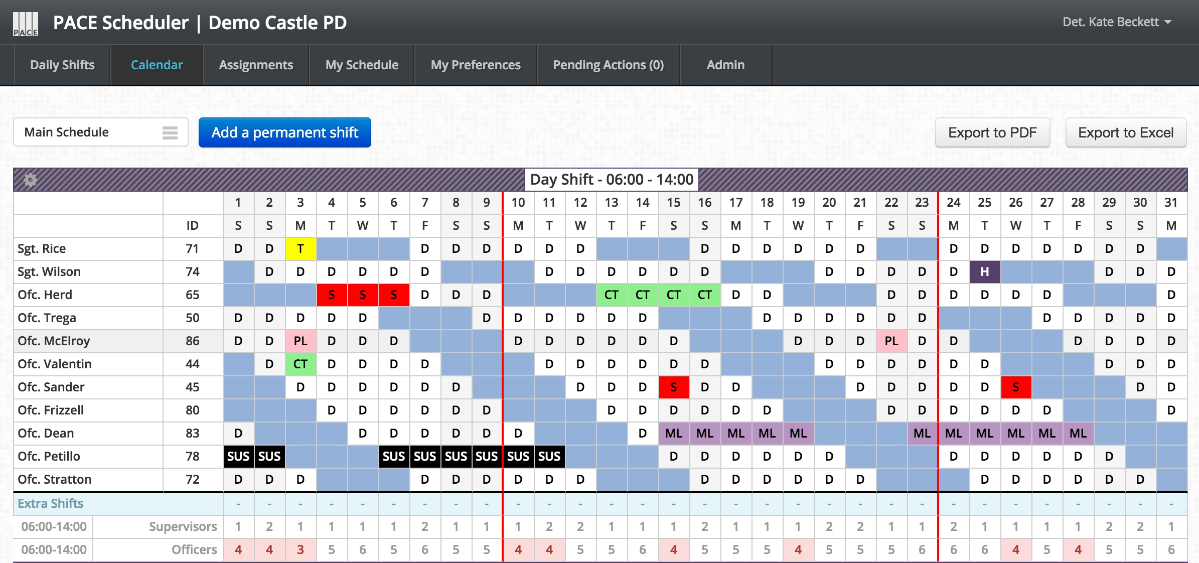 Pace Scheduler | Scheduling, Simplified.