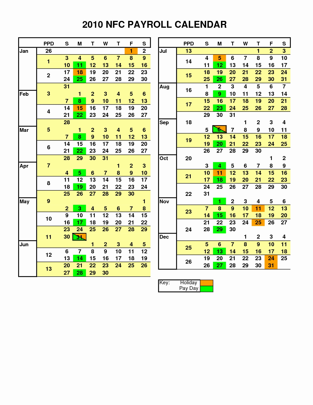 Payroll Calendar Vanderbilt | Payroll Calendar 2020