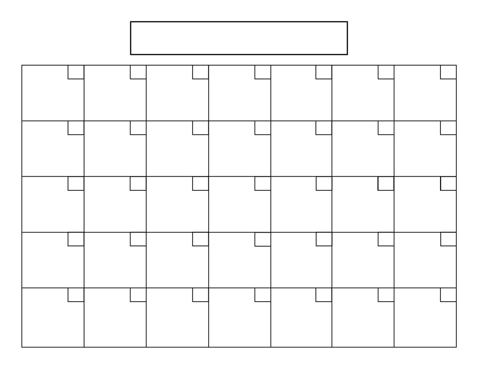 Perpetual Calendar Tutorial (With Images)   Blank Calendar