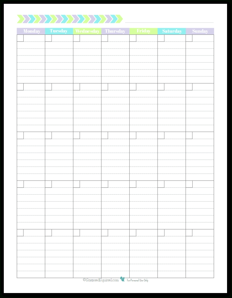 Personal Planner - Free Printables (With Images) | Monthly