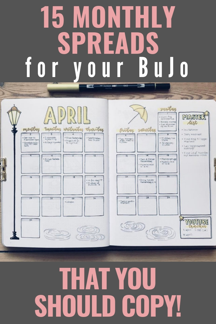 Pin On Bullet Journaling