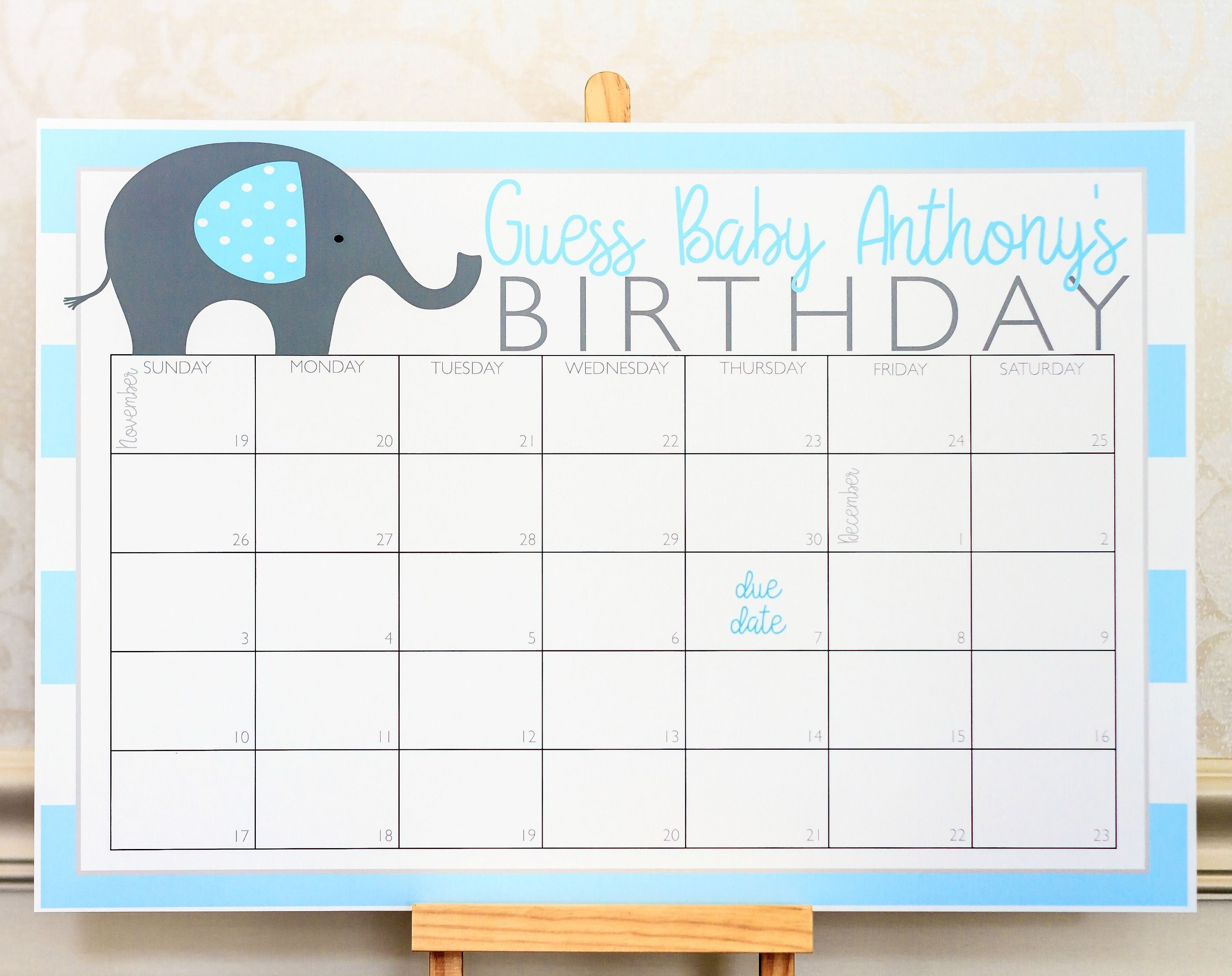 Planning A Baby Shower? Check Out This Elephant Baby Shower