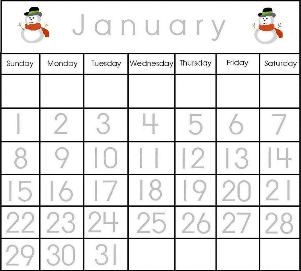 Printable Numbers 1-31 For Calendar – Template Calendar