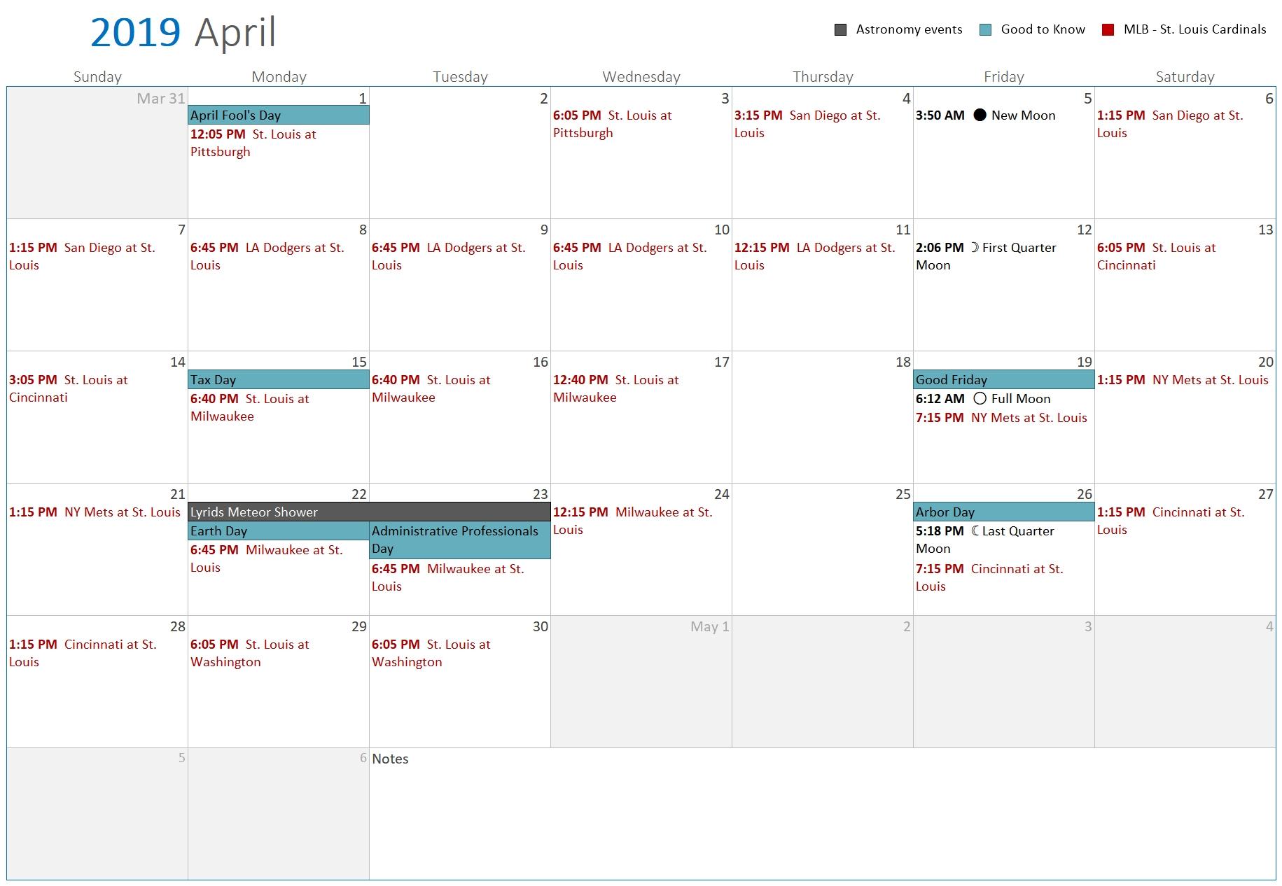 Printablecal | Create Printable Calendars With 90+ Calendar
