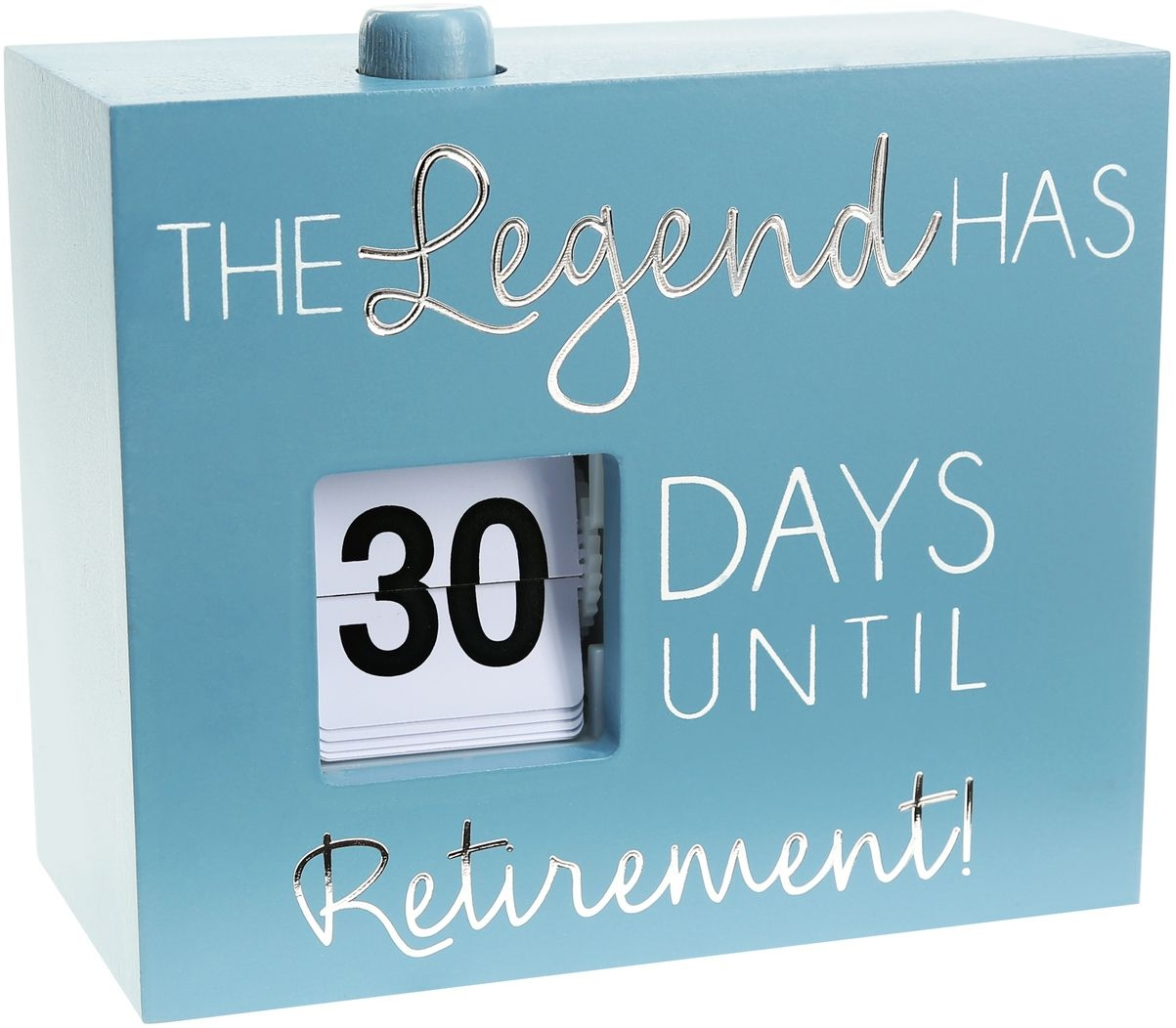 "Retirement - 4.5"" Countdown Calendar"