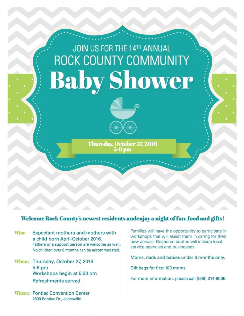 Rock County Community Baby Shower   Wjvl