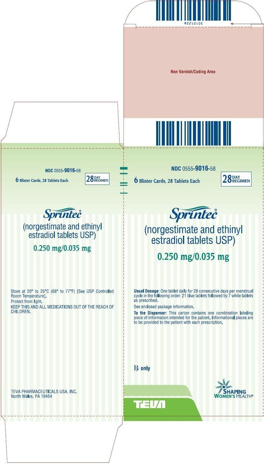 Sprintec - Fda Prescribing Information, Side Effects And Uses