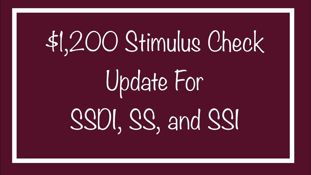Ssi Stimulus Check Direct Deposit Date
