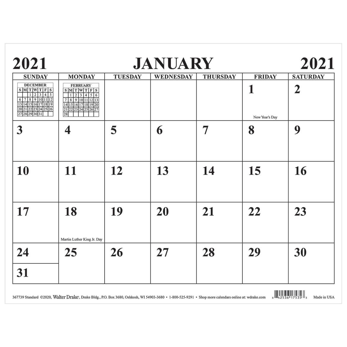 Standard Magnetic Calendar