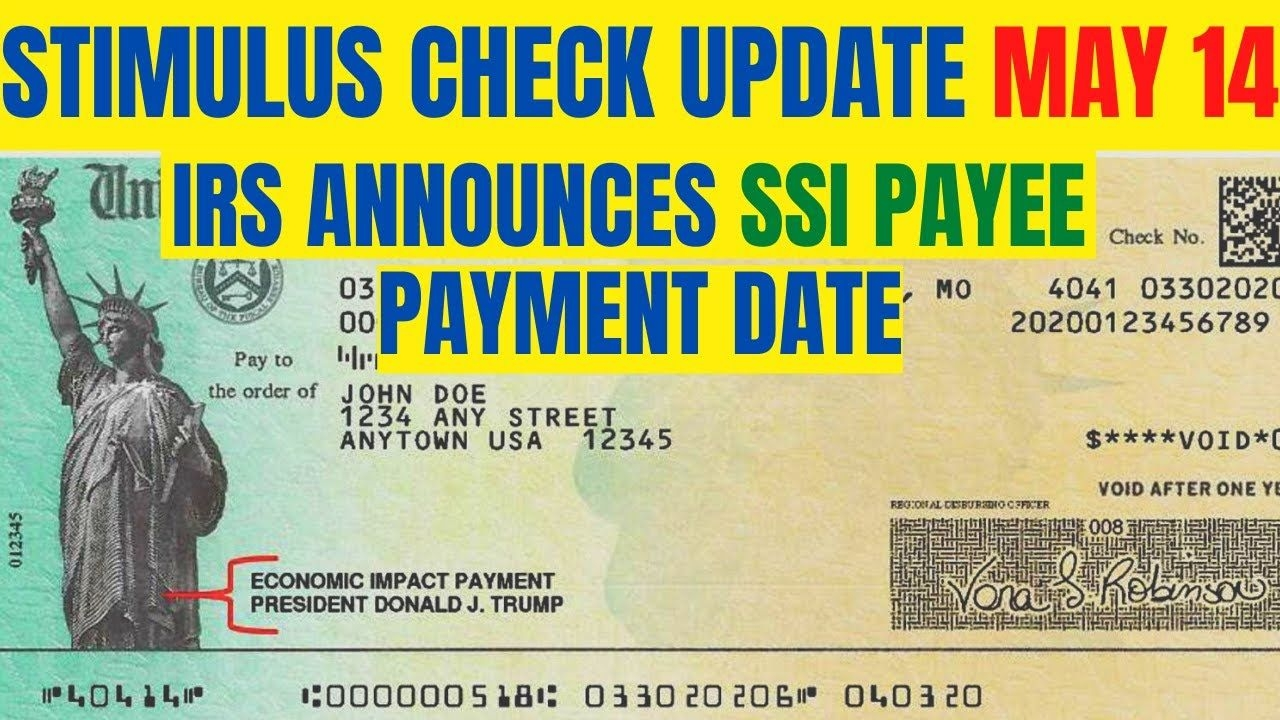Stimulus Check Update: Ssi Payee Payment Date Released By The Irs