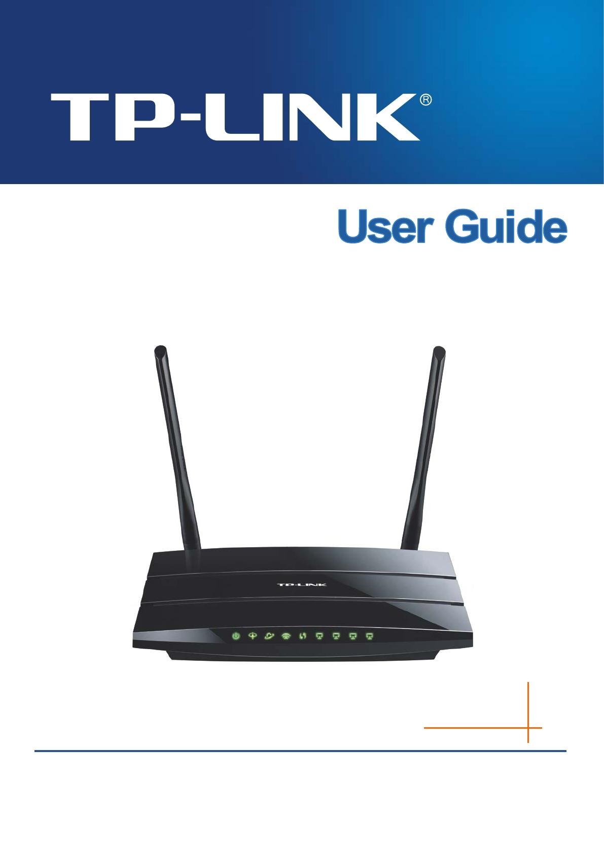 Tdw8970V3 300Mbps Wireless N Gigabit Adsl2+ Modem Router