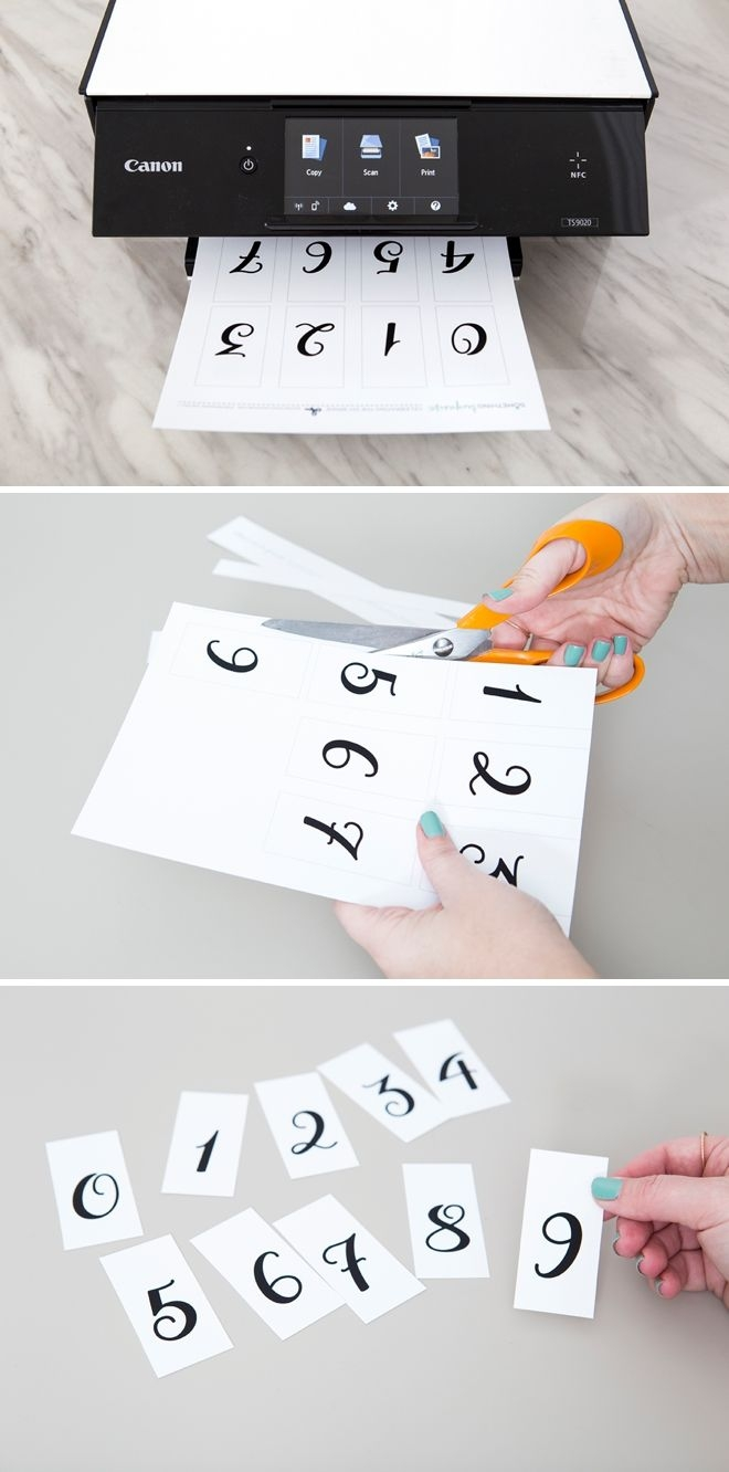 This Diy Wedding Countdown Sign Is The Absolute Cutest!
