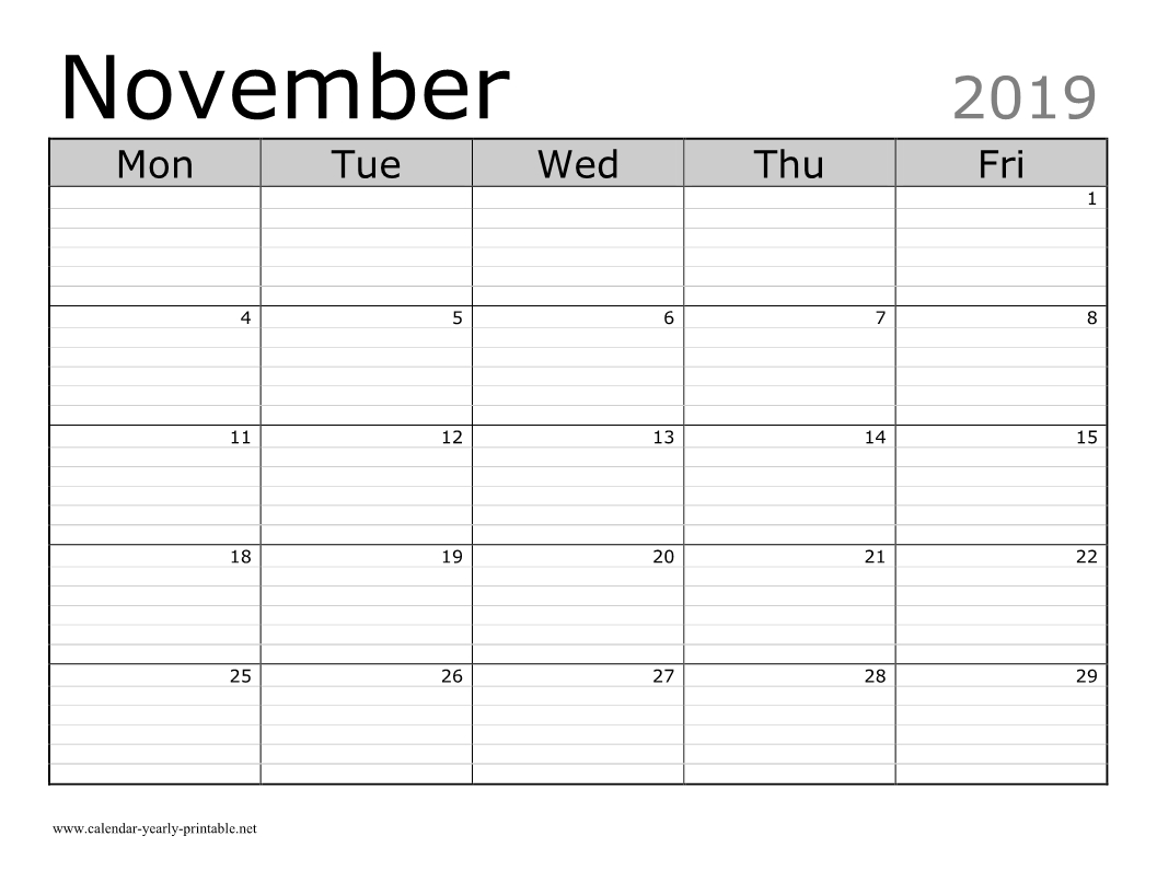 Unique Celebrations And Observances In November 2019