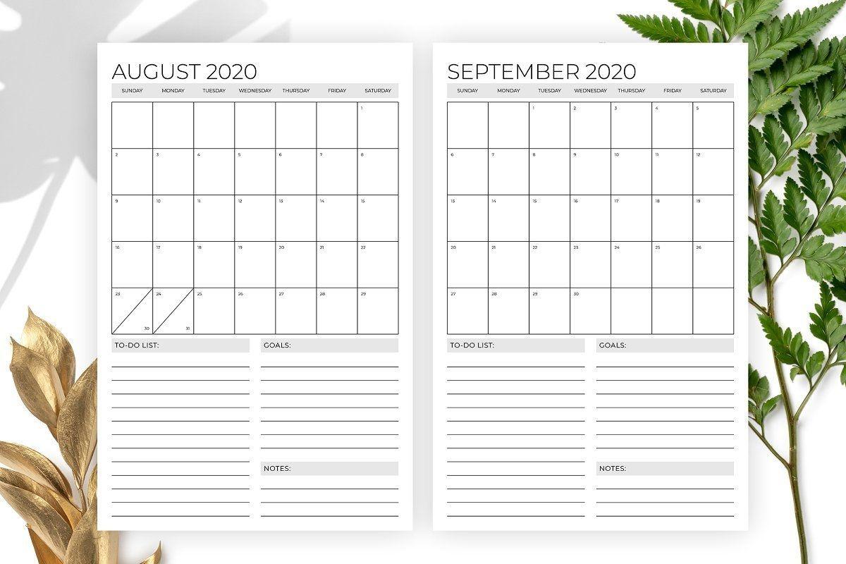 Vertical 11 X 17 Inch 2020 Calendar , #affiliate, #inch