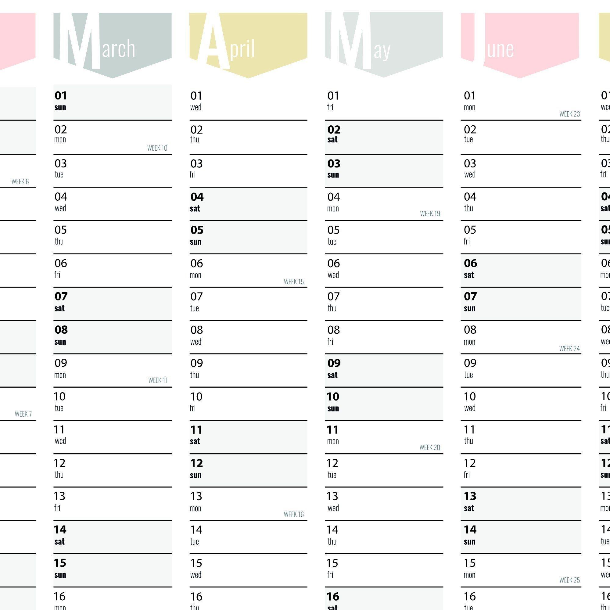 Wall Planner 2020 - 3 Sizes | Wall Planner, Wall Calendar