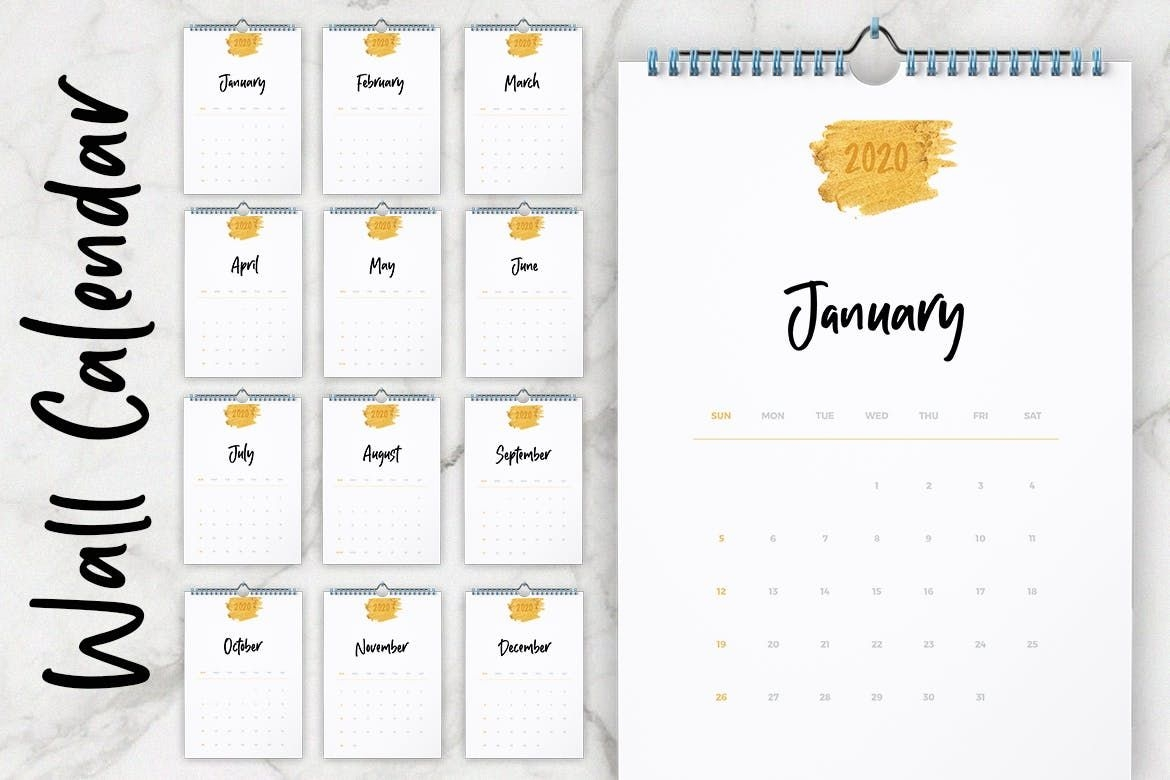 20+ Best Indesign Calendar Templates For 2020/2021 - Theme