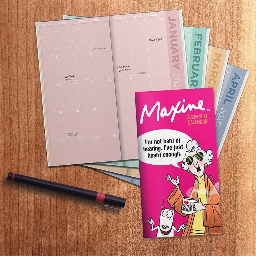 2020-2021 Maxine 2-Year Small Monthly Pocket Planner Calendar - Walmart