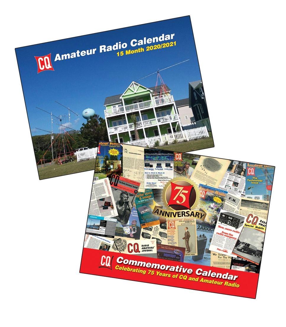 2020/21 Cq Operators & 75Th Anniversary Calendars – Shipping To Cn/Mx