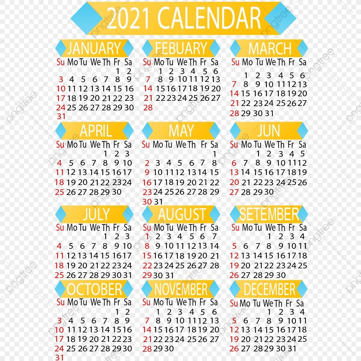 2021 Annual Calendar, Calendar Victor, Hand Draw, Design Png