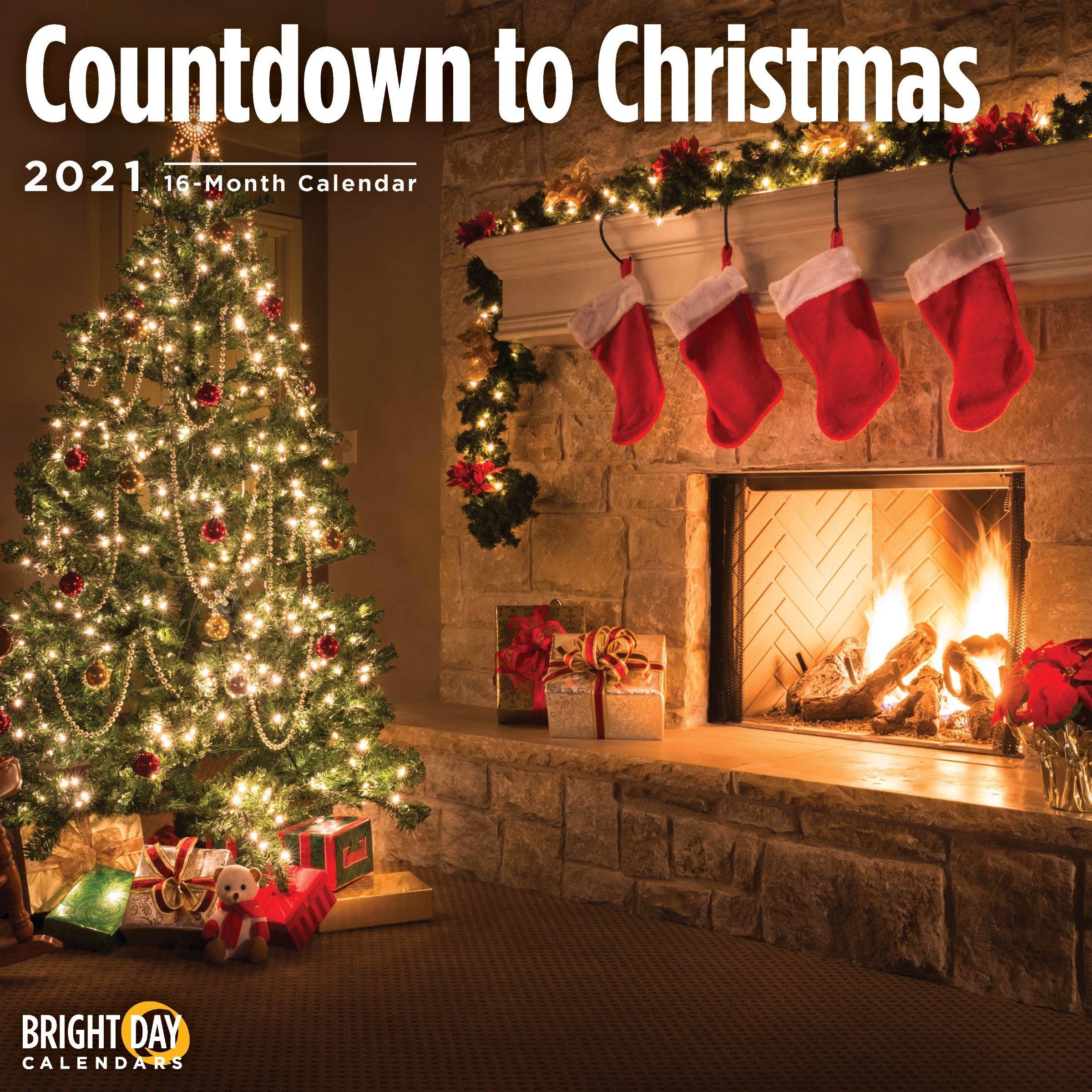 2021 Countdown To Christmas Wall Calendar - Walmart