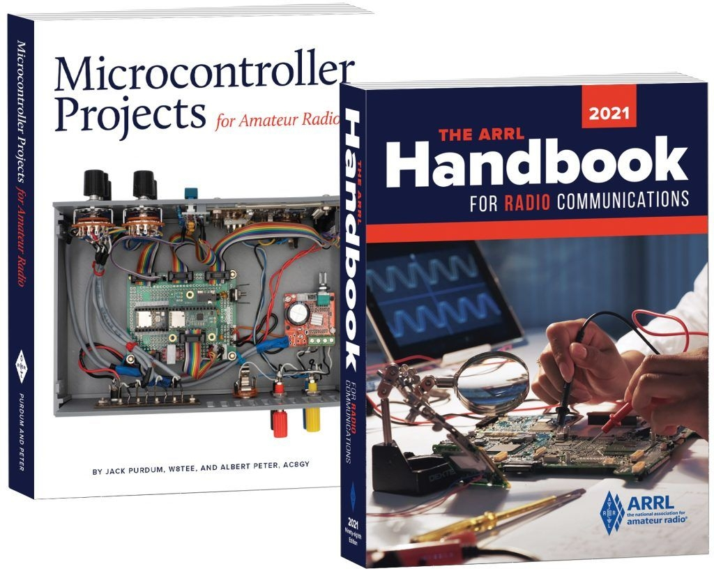 2021 Edition Of The Arrl Handbook And New Microcontroller