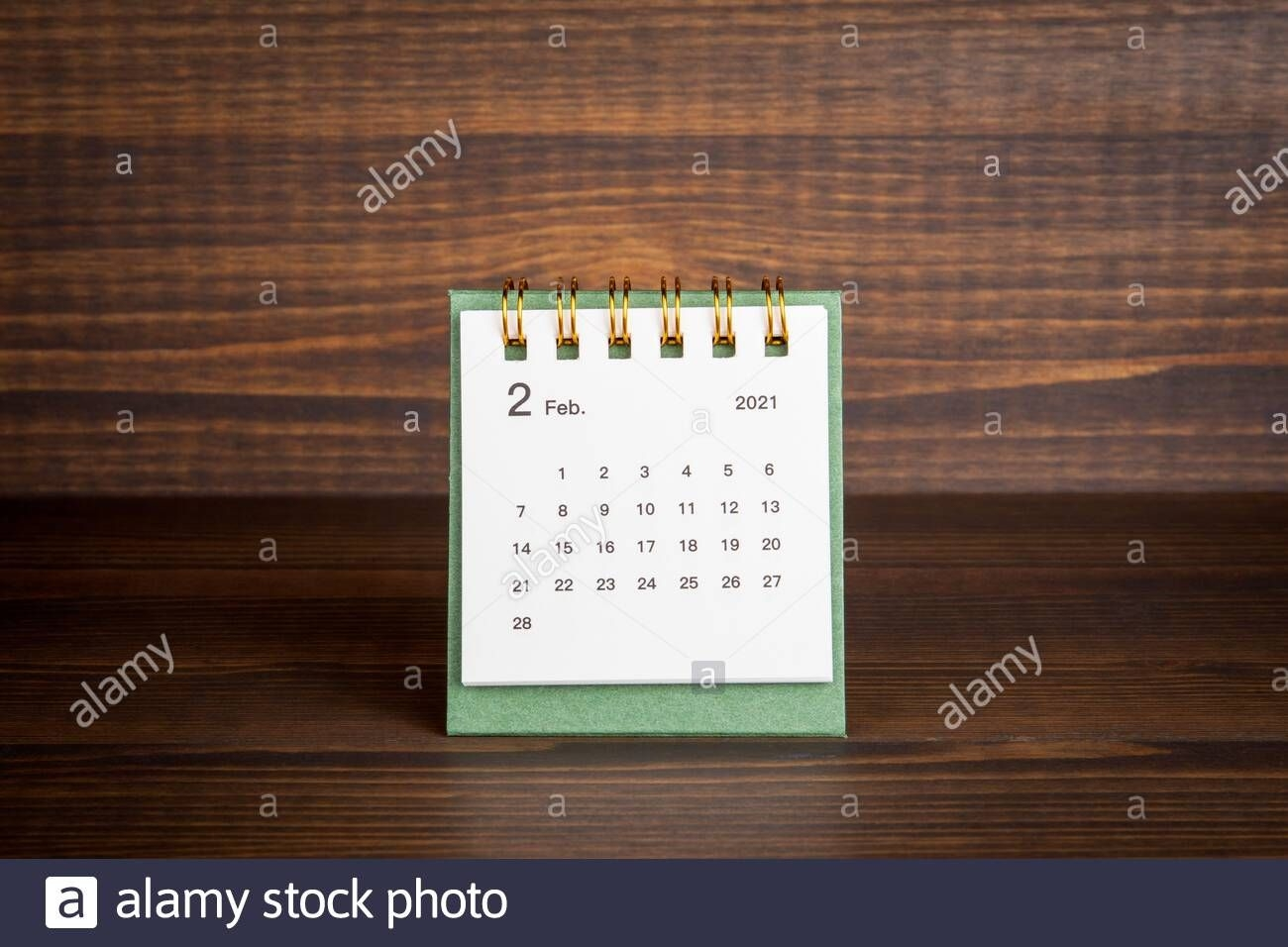 2021 February. Time Planning, Business, Day Counting And