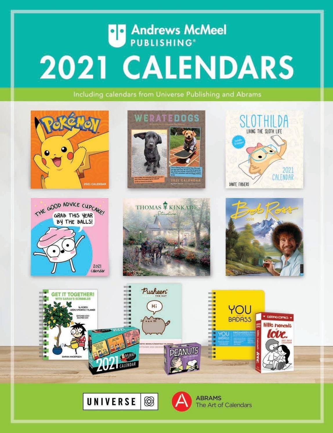 Andrews Mcmeel 2021 Calendar Catalog By Andrews Mcmeel